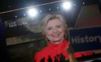Etats-Unis: Hillary Clinton désignée candidate démocrate à la Maison Blanche