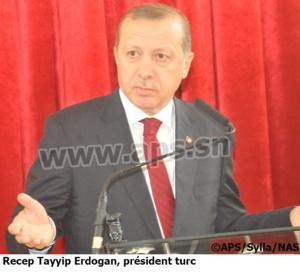 Sénégal-Turquie-Transport: Ankara mise sur un accord de partenariat entre les Compagnies nationales des deux pays(Recep Tayyip Erdogan)