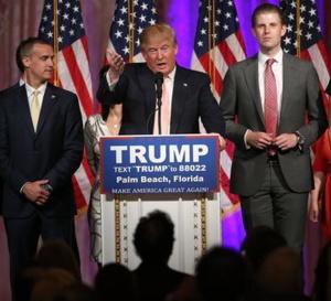 Présidentielle américaine: Donald Trump officiellement désigné candidat des républicains à la Maison Blanche