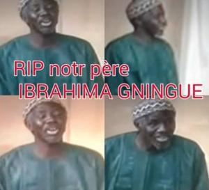 NECROLOGIE: Le comédien Ibrahima Gningue n'est plus