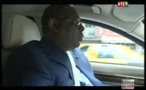 Vidéo : Quand Macky Sall roule à vive allure sur l'autoroute à péage – Regardez