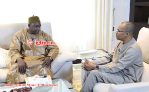 Vidéo # Entretien exclusif avec le président de la Gambie Adama Barrow