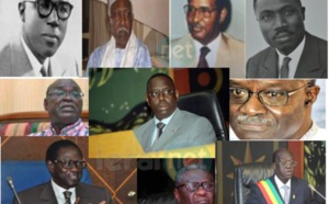 L'assemblée nationale de 1960 à nos jours: Historique des différentes figures qui ont occupé le perchoir