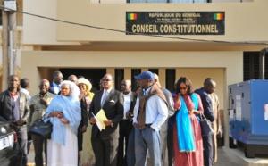 URGENT – Le conseil constitutionnel ne valide que les candidatures de 5 candidats