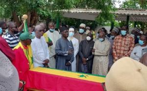 Les images de la levée du corps du 12ème Gaïndé Abdoulaye Thiam
