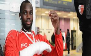 Victime d'une fracture de la main: Moussa Konaté indisponible pour un mois