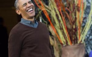 Vidéo: Obama raille Trump