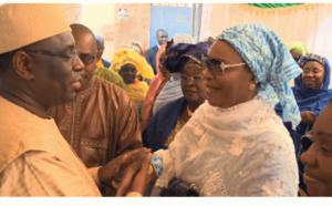 Vidéo de Macky Sall devant Aida Ndiongue : Quelle émotion!