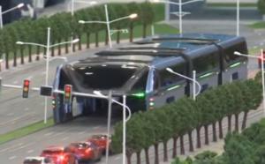 Technologie: Autobus anti-embouteillage en Chine
