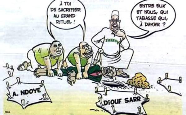 """Patron de Dakar: Khalifa """"tabasse"""" Diouf Sarr et Alioune Ndoye...(Odia)"""