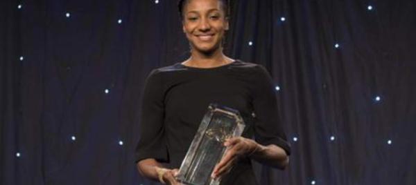 «Rising star » de l'athlète européen: Nafissatou Thiam remporte le trophée