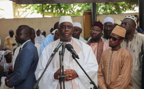 Levée du corps de Ousmane Sow: Discours du président Macky Sall