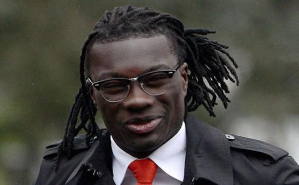 L'attaquant de l'OM Bafétimbi Gomis en vacance à Dakar