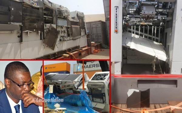 Destruction de la machine d'impression: Youssou NDOUR grassement dédommagé