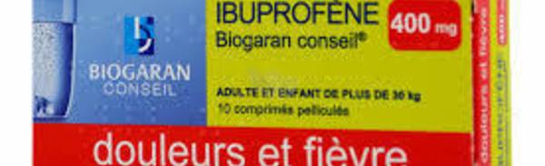 MEDICAMENT: L'ibuprofène augmente le risque cardiovasculaire s'il est pris à très forte dose