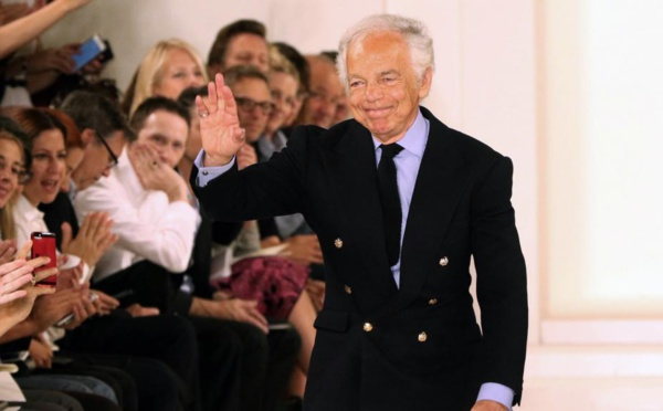 Départ de la direction générale du groupe qui porte son nom: Ralph Lauren, l'empereur de la mode américaine, range son dé