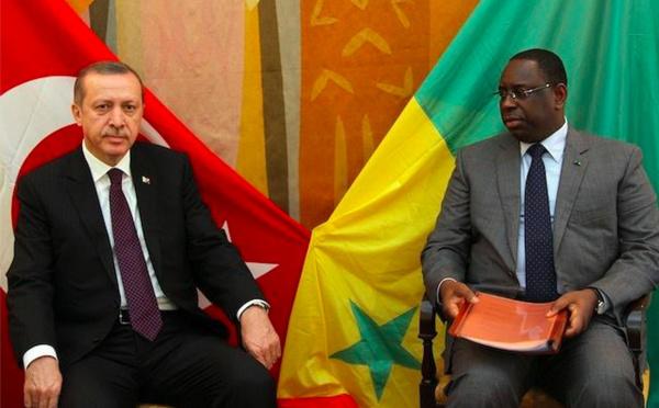 Turquie-visite: Arrivée du Président Erdogan à Dakar