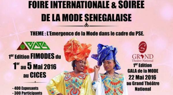 Evènement: La Foire internationale de la mode sénégalaise prévue du 1 au 5 mai 2016