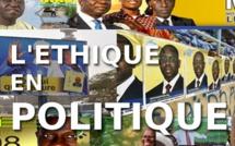 La noblesse de la politique se trouve dans l'éthique