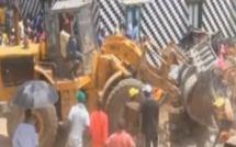 Déolition de mosquée: Tension à Guet Ndar