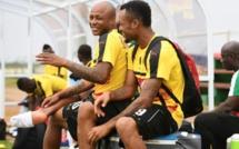 CAN-2017: Les attaquants du Ghana André et Jordan Ayew, comme des jumeaux