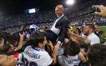 Real Madrid : Zinedine Zidane jubile !