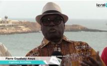 """Pierre Goudiaby Atépa: """"le Terrou Bi doit restituer la plage des enfants. Nous allons porter plainte au niveau de l'OFNAC"""""""