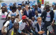 Football: L'OM compte bâtir un « projet solide » reposant sur de jeunes footballeurs sénégalais (Président)