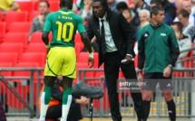 """Aliou Cissé entraîneur des lions du Sénégal: """" Ce que j'attends de Sadio Mané"""""""