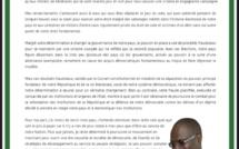 """Khalifa Sall écrit aux Dakarois : """"Le pouvoir a usé de procédés frauduleux pour gagner"""""""