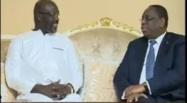 Vidéo: Entretien entre Macky Sall et Georges WEAH